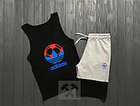 Комплект мужской шорты и майка Adidas