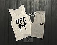 Комплект мужской шорты и майка UFC