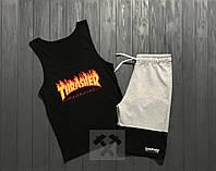 Комплект мужской шорты и майка Thrasher
