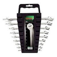 Набор ключей комбинированных 9шт. 6-19мм на холдере TOPTUL GAAC0901