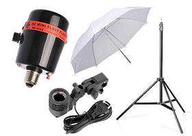 Студійні кріплення фонів, спалахів, парасольок і т. д.