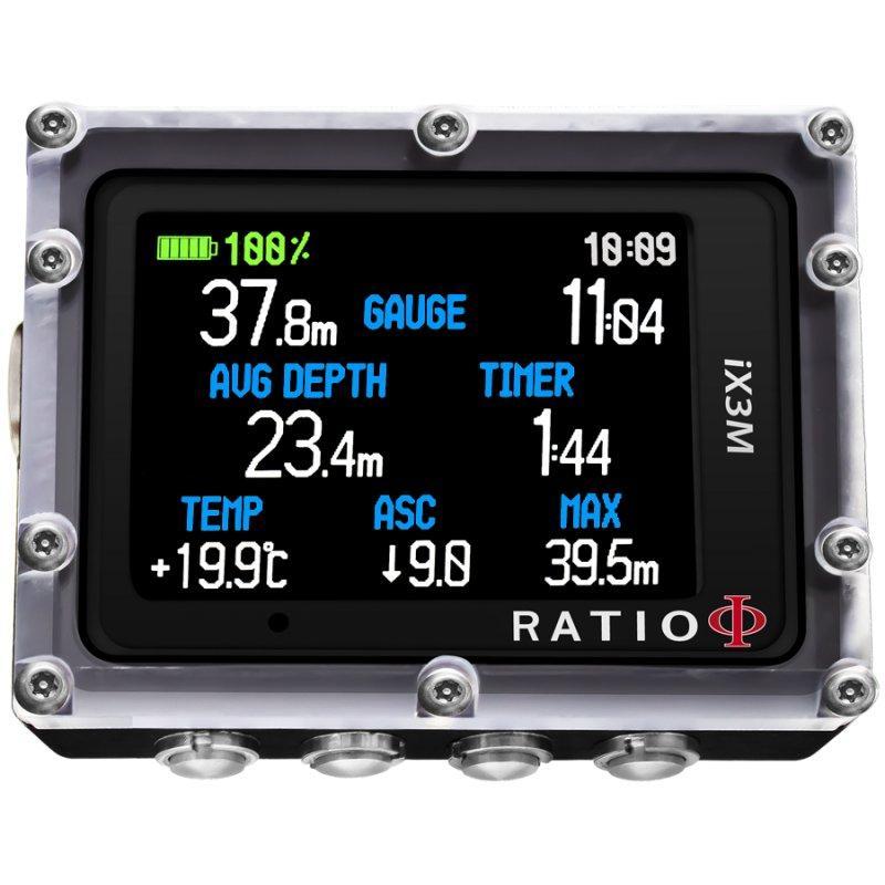 Компьютер подводный Ratio ix3M Easy