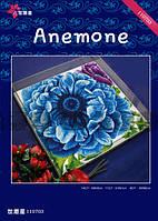 Набор для вышивания крестиком Анемон