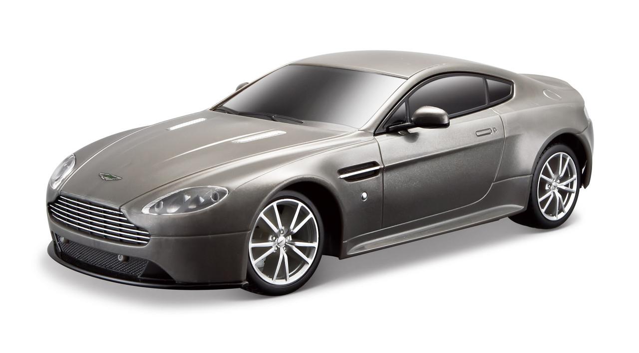 Автомодель на р/у (1:24) Aston Martin Vantage S серый MAISTO TECH 81067