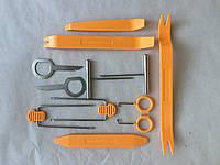 Набор инструмента (съемников) 12 шт. пластик.+метал.