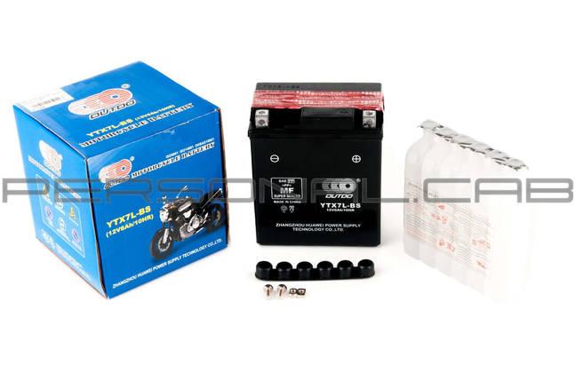Аккумулятор 12V 6А заливной (черный), фото 2