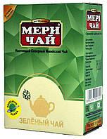 """Чай зелёный индийский """"MeriChai"""" 100г (+ложка)"""