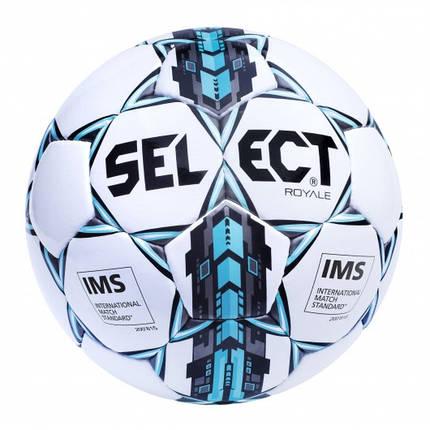Мяч футбольный SELECT ROYAL IMS (р.5, р.4), фото 2
