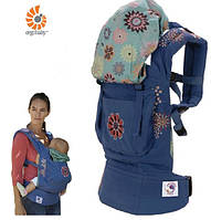 Эрго-рюкзак ERGObaby рюкзак Baby Carrier FASHION LINE Twill Blue Organic