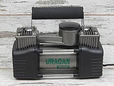 Автокомпрессор двухпоршневой Ураган URAGAN 90170