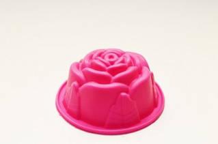 Форма для выпечки Мафин роза 1  шт. силикон