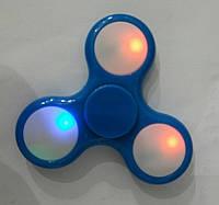 Спиннер синий светящийся. Оригинальные Spinner оптом 209