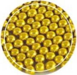Сахарный декор Золото 5 мм стик-пакет 3 грамма