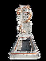 Памятник бетонный, комплект Роза