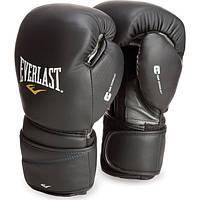 Боксерские перчатки Everlast Protex2 Leather Черные