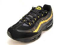 Кроссовки мужские  Nike Air Max 95  черно-золотые (р.41,42,43,46)