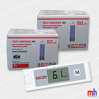 Глюкометр Gamma Mini + тест полоски Gamma MS №50 – 2 уп. (100 шт.)