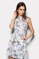 Літнє коктейльне плаття з узором Lisa Розпродаж!