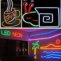 Подсветка интерьера: помещений.FLEX LED NEON.  220В