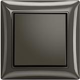 Рамка 2 пост. ABB Basic 55 Чорний шато (chateau black), фото 2