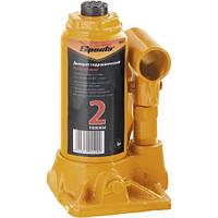 Домкрат гидравлический бутылочный, 2 т, h подъема 148–278 мм// SPARTA  50321