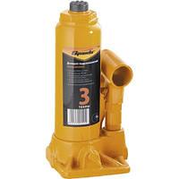 Домкрат гидравлический бутылочный, 3т, h подъема 180-340 мм// SPARTA 50322