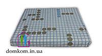 Простынь на резинке ТЕП Авангард 160х200 см