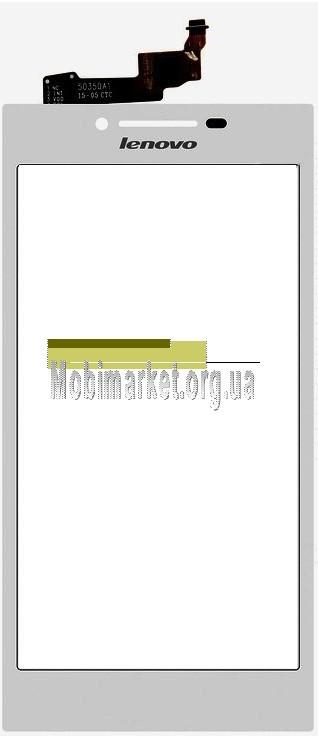 Сенсор (тачскрін) для Lenovo P70, білий