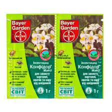 Конфідор Максі інсектицид 1 г Німеччина, BAYER