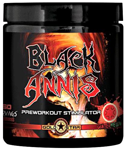 Предтренировочный комплекс GoldStar - Black Annis (150 грамм) 25 порций