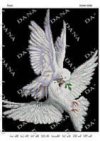 """Схема на ткани для вышивки бисером DANA """"Полет"""" 3248"""