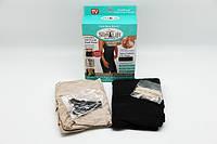Корректирующее белье (утягивающие шорты) Slim Lift с бретельками Черный
