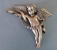 Декоративные элементы для памятника. Накладка на памятник Ангелочек
