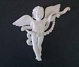 Декоративные элементы для памятника. Накладка на памятник Ангелочек, фото 2