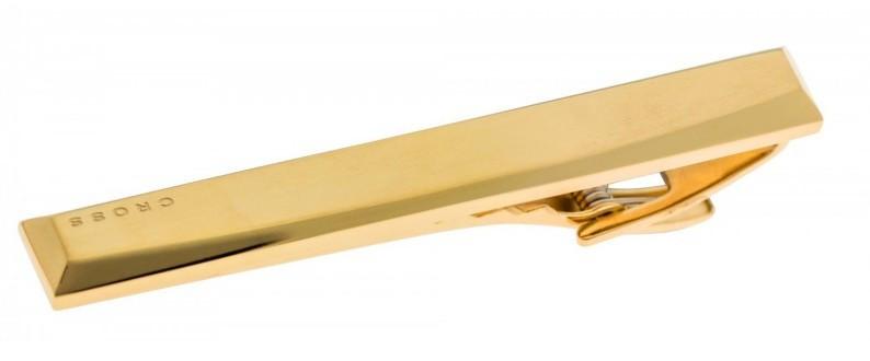 Зажим для галстука Cross Charles Cr012-t2 золотистый