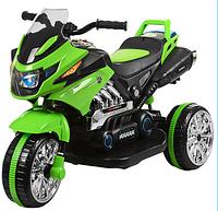 Детский трехколесный мотоцикл Bambi BI318C-5, зеленый***