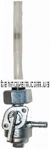 Кран топливный бензогенератора гайка d18mm
