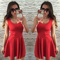 Расклешенное летнее платье женское, фото 1