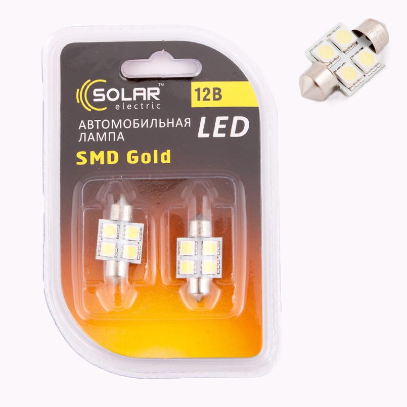 Светодиодные лампы Solar LS270  31мм