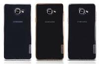 Чехол для Samsung Galaxy A7 (2016) A710 - Nillkin Nature TPU case, разные цвета