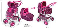 Кукольная коляска 4 в 1 Lovely Baby FL8192 ***