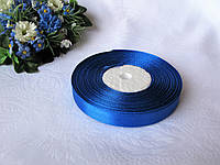 Лента 1,2 атлас однотонная.  Цвет темно синий. Бобина 18 грн - 33 метра, на метраж 1 грн - метр.