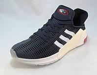 Кроссовки мужские  Adidas Climacool текстиль синие (р.41,42,43,44,45,46)