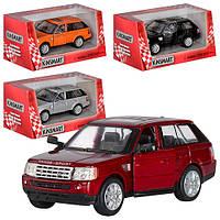 "Машинка Kinsmart KT 5312 W ""Range Rover Sport"", 12,5 см (Y)"