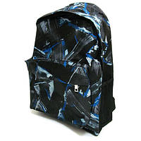 """Рюкзак с карманом 0601-B """"Граффити,"""" 42х30х13 см"""