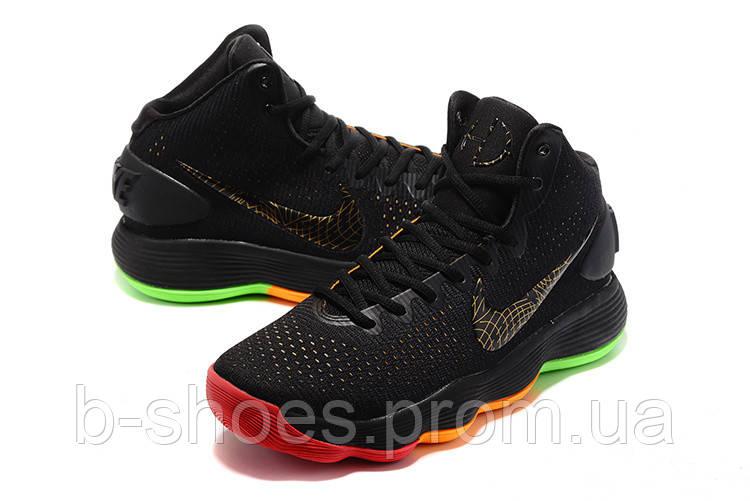 Мужские баскетбольные кроссовки Nike Hyperdunk 2017 (Black/Multicolor)