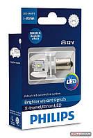 Philips X-treme Ultinon LED P21W лампа для сигнального освещения, 1шт., 12898X1