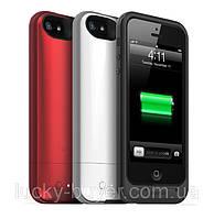 Чехол-аккумулятор для iPhone 5 5S SE Mophie Juice Pack Plus, фото 1