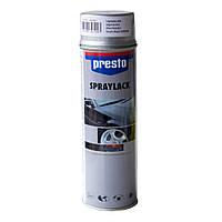 Краска для дисков серебристая аэрозольная Presto  500 мл