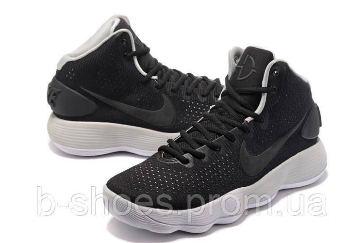 Мужские баскетбольные кроссовки Nike Hyperdunk 2017 (Black/Grey)